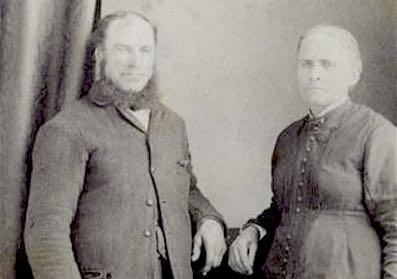 Jean-Baptiste Dufresne et Flavie Ménard, 1912