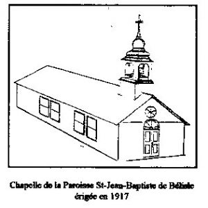 La Chapelle St Jean Baptiste-de-Bélisle de 1917.