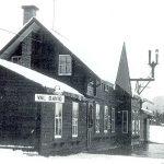 Gare de Val-David en 1976