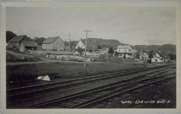 Val-David vers 1925. Archives de la SHPVD