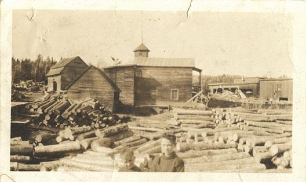Le moulin Bélisle vers 1929