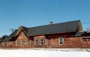 Gare de Val-David en 1960