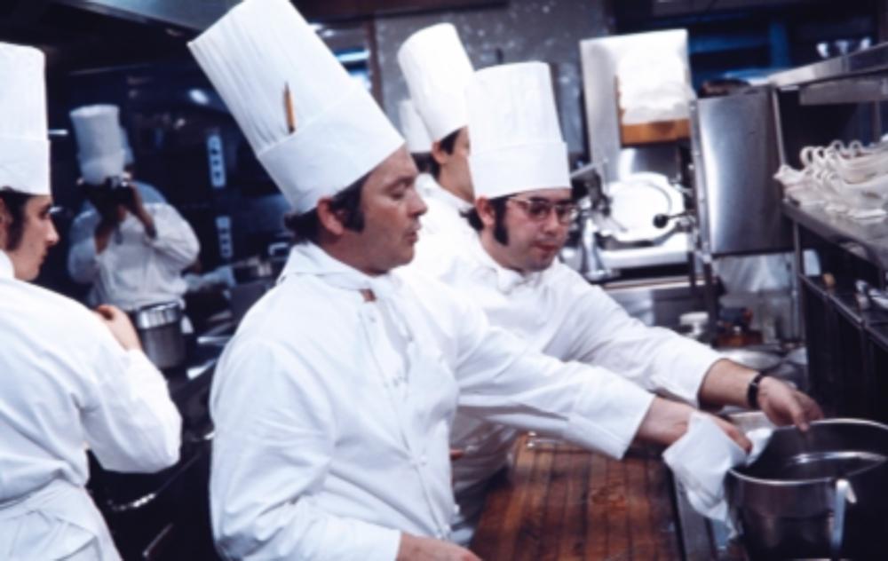 Une grande bouffe à La Sapinière en 1976