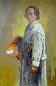 Autoportrait de Christo (date inconnue)