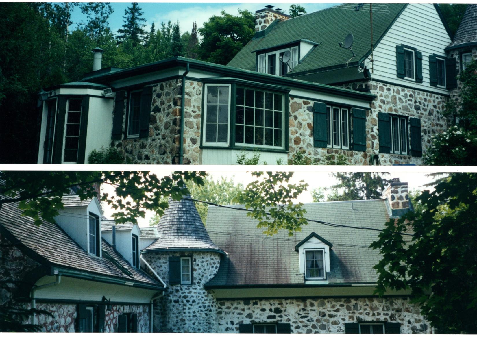 Une belle vieille maison sur le bord du Lac Paquin: La maison Eberts-Gold