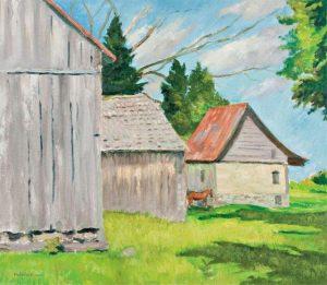 Barns in Summer