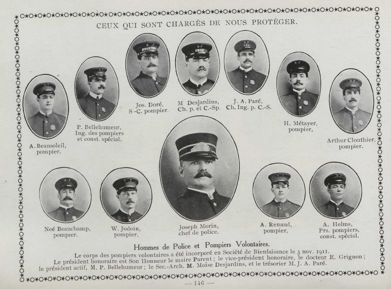 Histoire des pompiers de Val-David