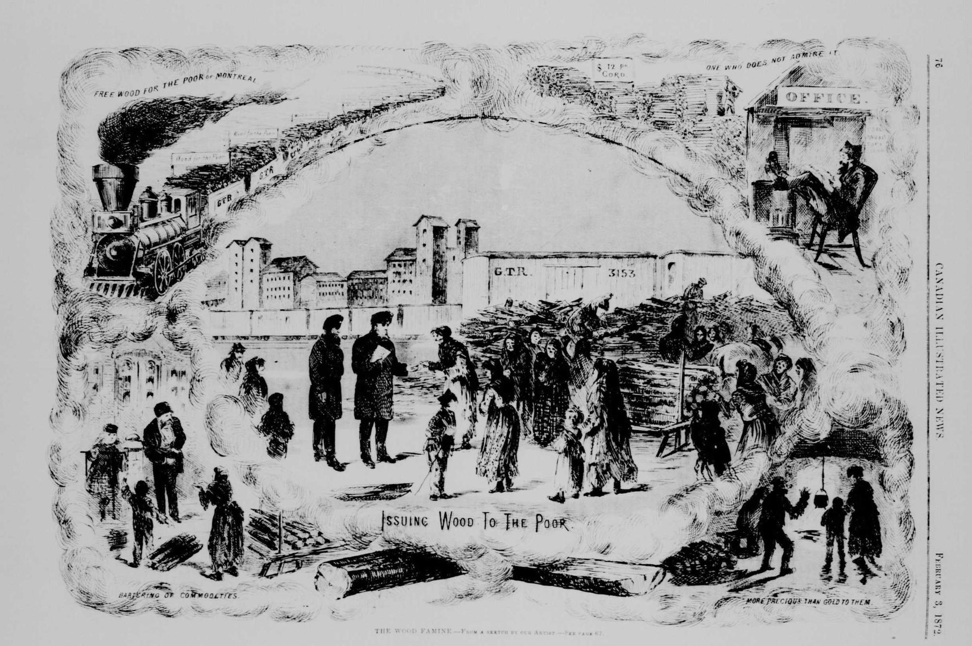 Capsule historique: La grande corvée de 1872